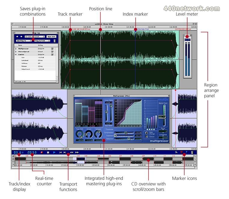 Emagic WaveBurner Pro
