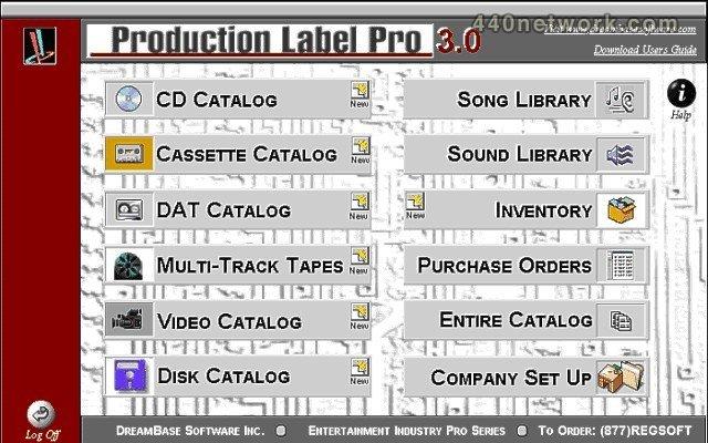 DreamBase Software Production Label Pro