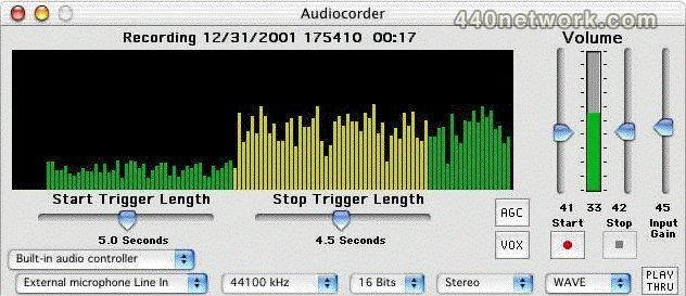 Black Cat Systems Audiocorder