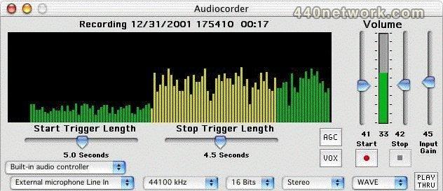 Black Cat Systems Audiocorder