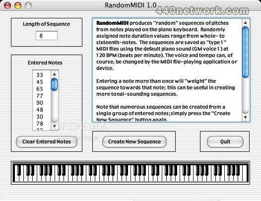 Useful Software RandomMIDI