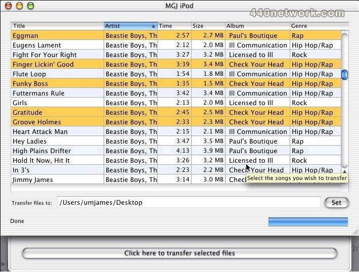 InitGraf Software Ipod Viewer