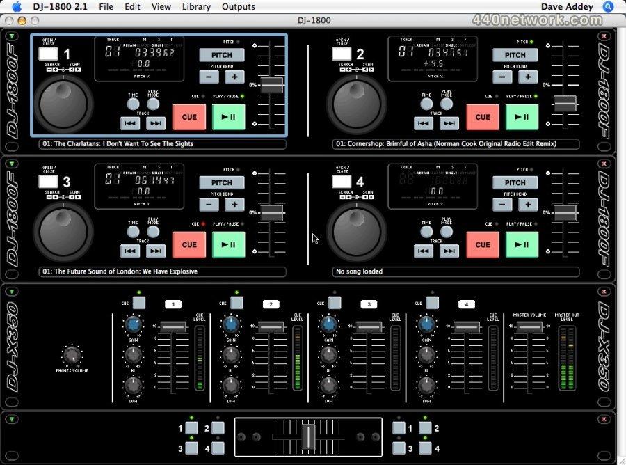 DJ-1800 DJ-1800
