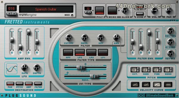 Ultimate Sound Bank Plugsound vol.2 - Fretted