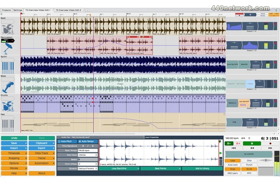 Tracktion Software Corporation Tracktion