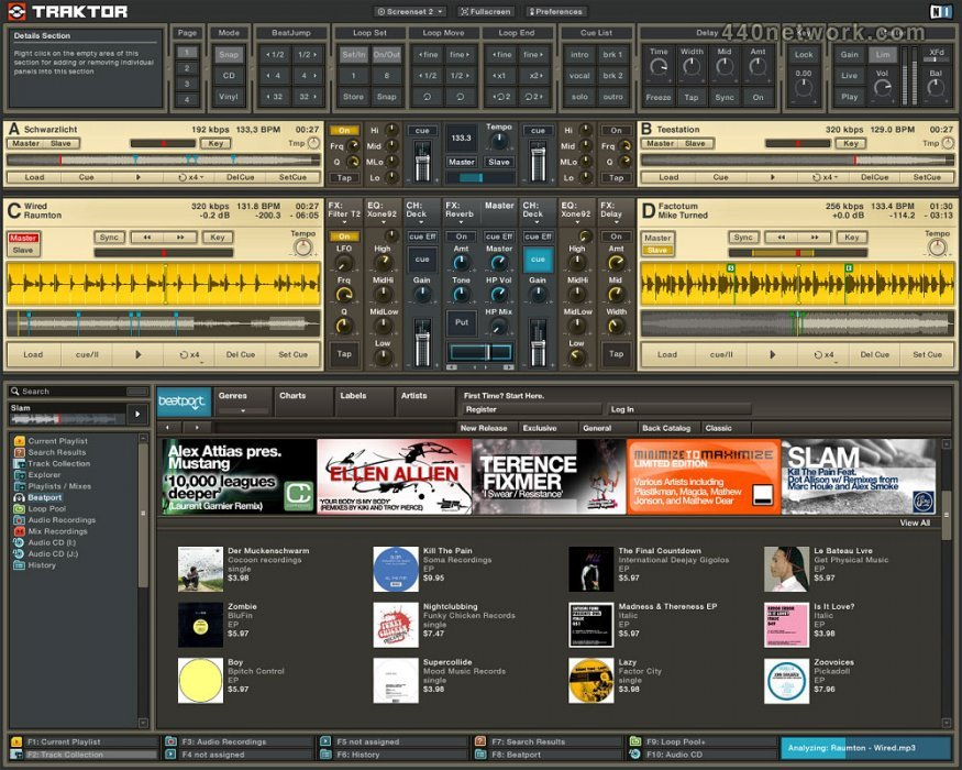Native Instruments Traktor DJ Studio
