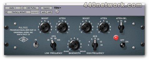 Universal Audio Pultec EQP-1A