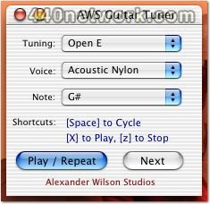 Alexander Wilson AWS Guitar Tuner