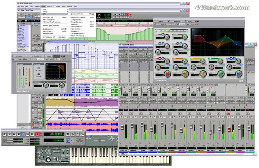 Download Pro Tools LE by Digidesign at 440Software