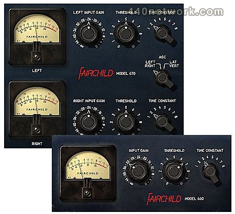 Avid Fairchild 660 and 670 Bundle