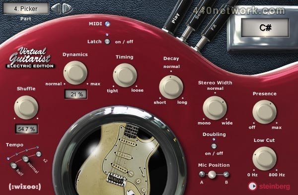 Steinberg Virtual Guitarist Electric Edition