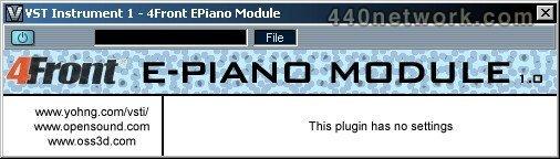 4Front E-Piano Module