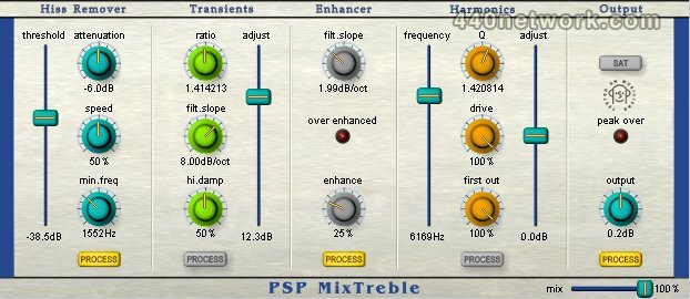 PSP Audioware PSP Mix Pack