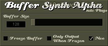 Ndc Plugs Buffer Synth Alpha