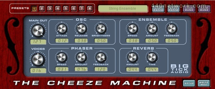 Big Tick Audio Cheeze Machine