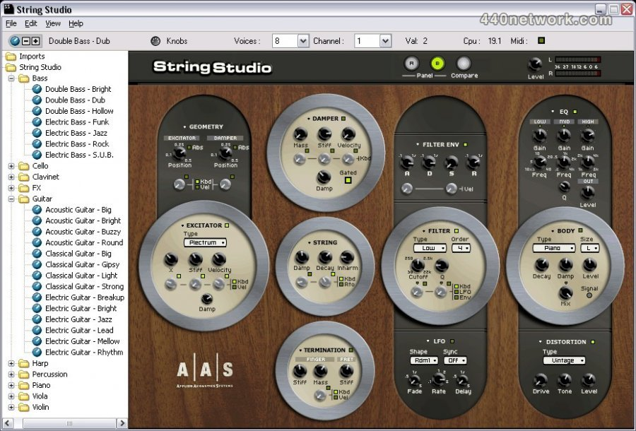 Applied Acoustics Systems (AAS) String Studio