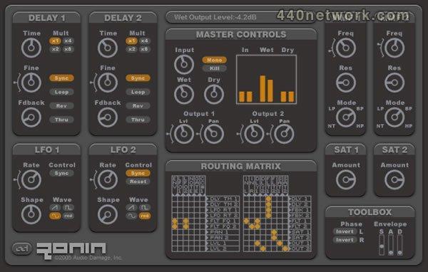Audio Damage Ronin