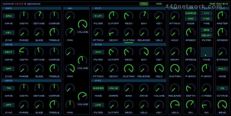 Alphakanal Automat