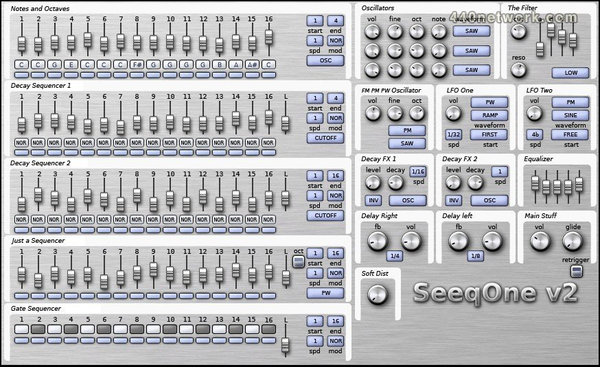 Odo Synths Seeq one