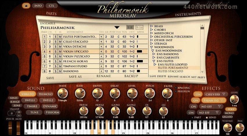 IK Multimedia Philharmonic Miroslav