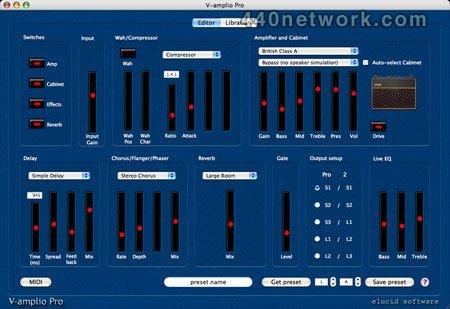 Elucid Software V-amplio Pro
