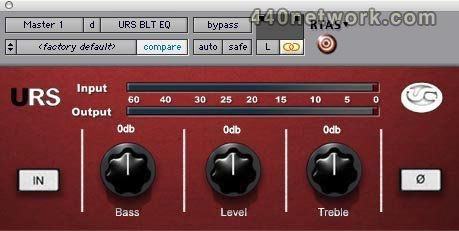 URS Plugins URS BLT Program EQ