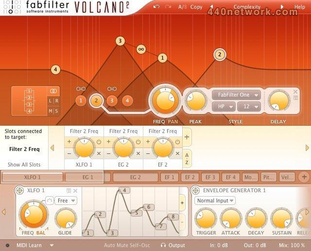 FabFilter Volcano