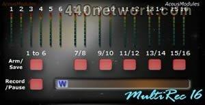 AcousModules MultiRec 16