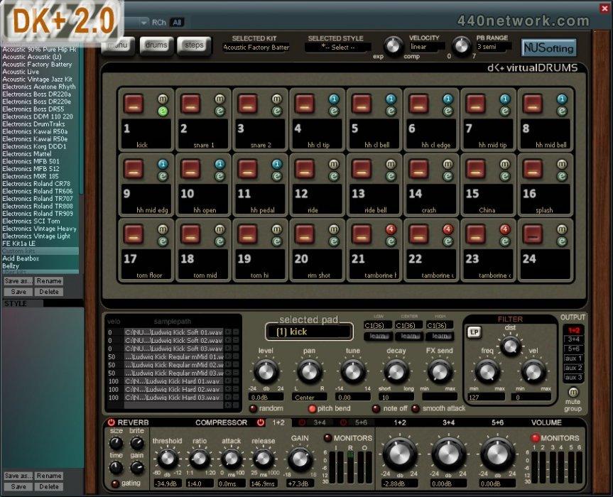 NUSofting DK Virtual Drums