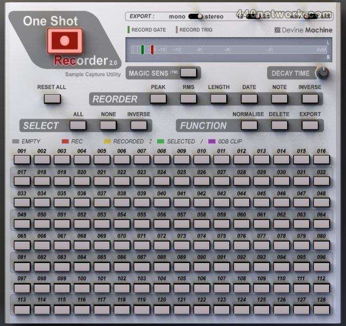 Devine Machine OneShot Recorder