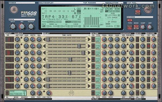 PSP Audioware PSP 608 MD
