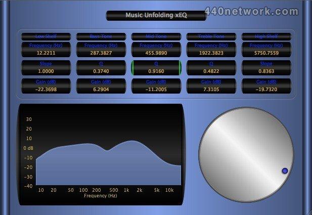 Music Unfolding xEQ
