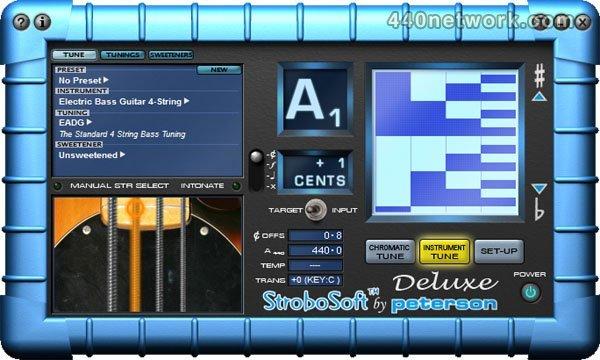 Peterson Strobe Tuners StroboSoft Deluxe