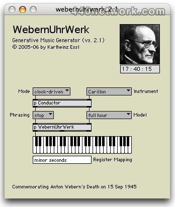 Karlheinz Essl WebernUhrWerk