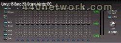 Uncut Plugins 15 Band 2 3 Octave Master EQ