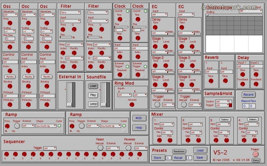 Arne Eigenfeldt VS-2 Virtual Synthesizer