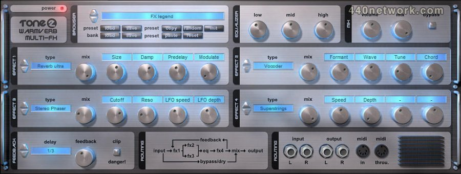 Tone2 Warmverb Multi-FX