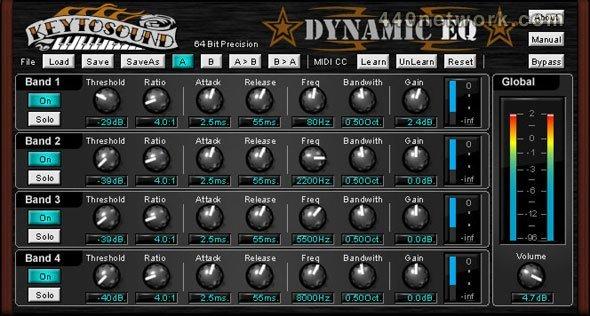 Keytosound Dynamic EQ