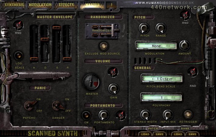Humanoid Sound Systems Scanned Synth Pro