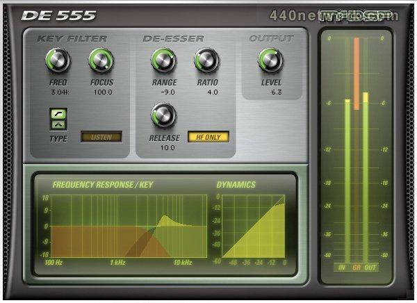 McDSP DE555 De-esser