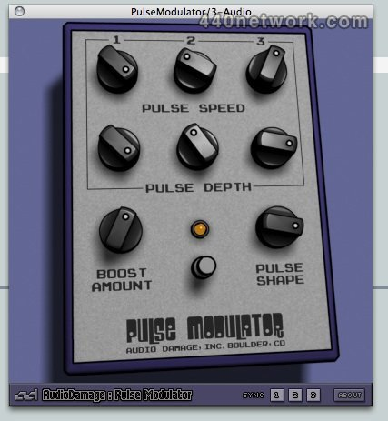 Audio Damage Pulse Modulator