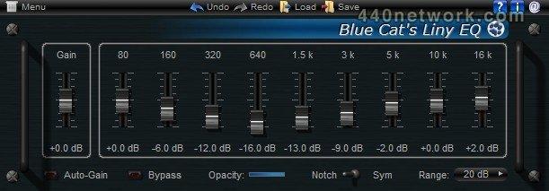 Blue Cat Audio Blue Cat's Liny EQ