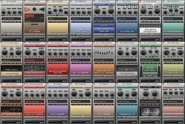 Audiffex Audiffex guitar pedals