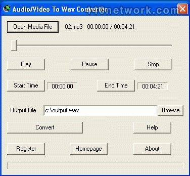 008soft Audio/Video To Wav Converter