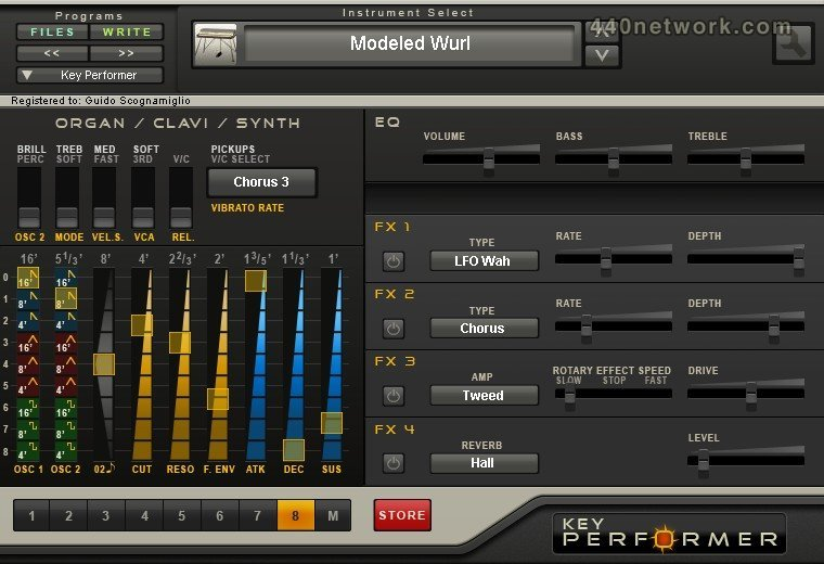 Genuine Soundware Key Performer