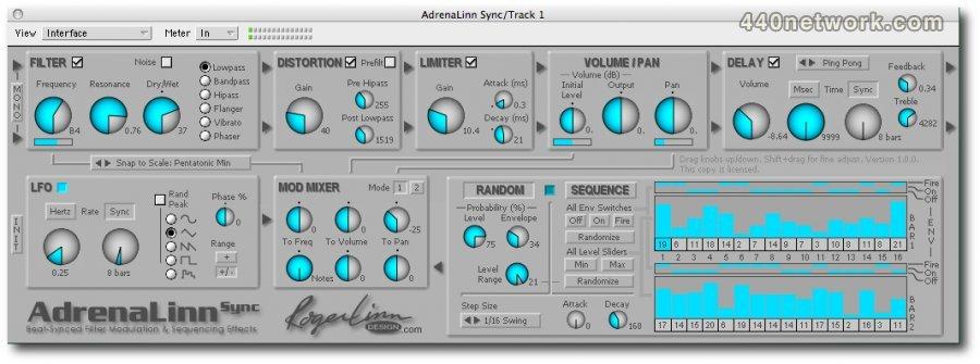 Roger Linn Design AdrenaLinn Sync