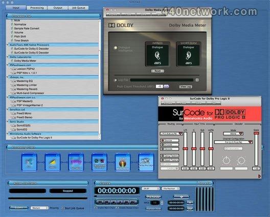 Minnetonka Audio Software AudioTools Audio Workflow Engine
