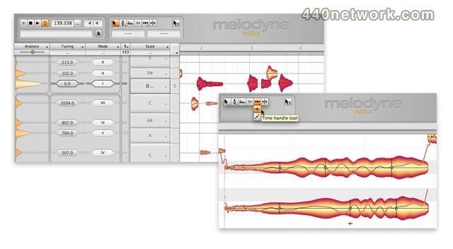 Celemony Software Melodyne editor