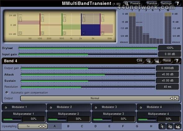 MeldaProduction MMultiBandTransient
