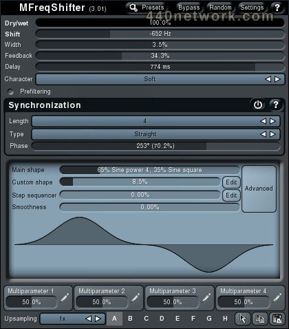 MeldaProduction MFreqShifter